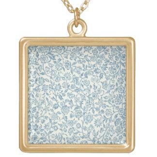 Merton, diseño del papel pintado collar dorado