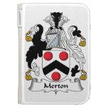 Merton Family Crest Kindle Keyboard Cases