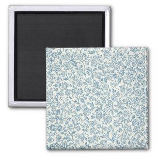 Merton, wallpaper design 2 inch square magnet