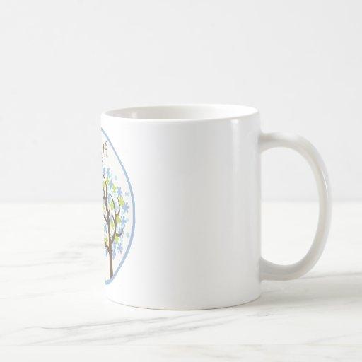 Mes 3 del jalón del búho del árbol tazas de café