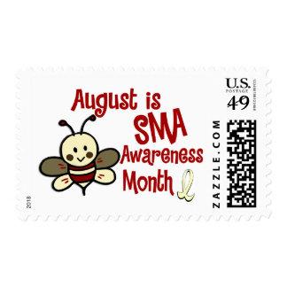 Mes agosto de la conciencia de SMA Franqueo