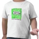 Mes cuadrado de la conciencia del linfoma de la fa camisetas