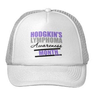 Mes de Awarenes de la enfermedad de Hodgkins Gorros Bordados