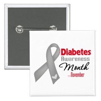 Mes de la conciencia de la diabetes pins