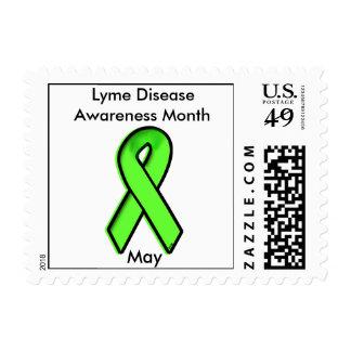 Mes de la conciencia de la enfermedad de Lyme Estampilla