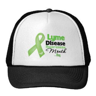 Mes de la conciencia de la enfermedad de Lyme Gorro