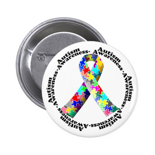 Mes de la conciencia del autismo pins