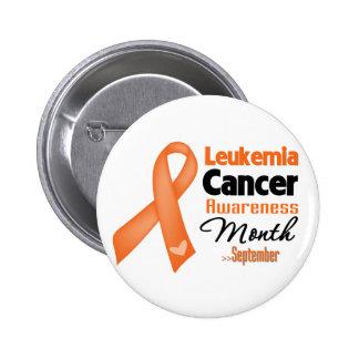 Mes de la conciencia del cáncer de la leucemia pins