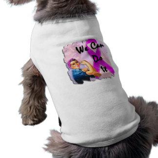 Mes de la conciencia del cáncer de pecho, Rosie el Playera Sin Mangas Para Perro