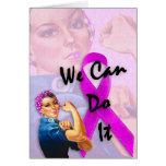Mes de la conciencia del cáncer de pecho, Rosie el Felicitaciones