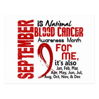 Mes de la conciencia del cáncer de sangre para MÍ Postales