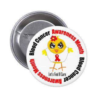 Mes de la conciencia del cáncer de sangre pin