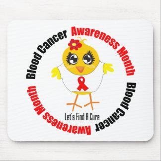 Mes de la conciencia del cáncer de sangre alfombrillas de ratón
