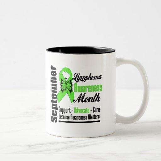 Mes de la CONCIENCIA del linfoma - MATERIAS de la  Taza De Café