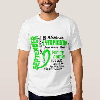 Mes de la conciencia del linfoma Non-Hodgkin mi Camisas