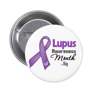 Mes de la conciencia del lupus pin