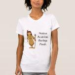 Mes de la herencia del nativo americano camisetas