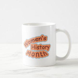 Mes de la historia de las mujeres taza