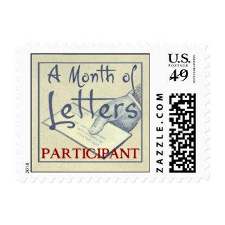 Mes de los sellos de letras
