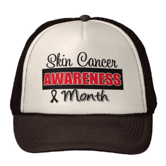 Mes del cáncer de piel gorra