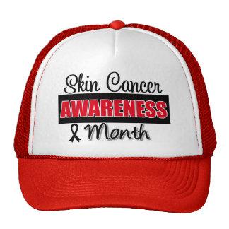 Mes del cáncer de piel gorros bordados