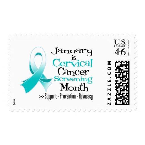 Mes enero - cáncer de cuello del útero de la inves franqueo