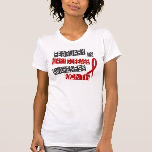 Mes L1 de la conciencia de la enfermedad cardíaca Camiseta