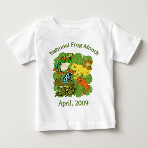 Mes nacional, abril de 2009 camisetas y regalos de playeras