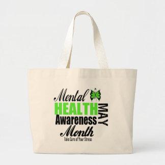 Mes nacional de la conciencia de la salud mental bolsas
