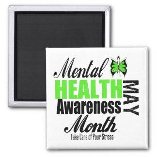 Mes nacional de la conciencia de la salud mental imanes