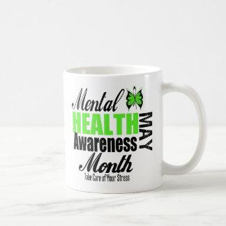 Mes nacional de la conciencia de la salud mental taza