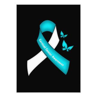 Mes nacional de la conciencia del cáncer de cuello impresion fotografica