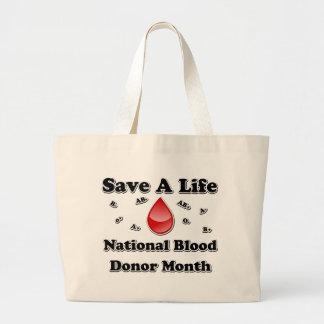 Mes nacional del donante de sangre - ahorre una vi bolsa