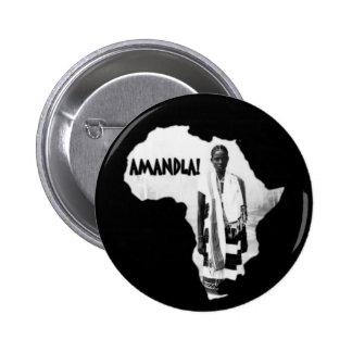 ¡Mes negro de la historia - AMANDLA! Pin