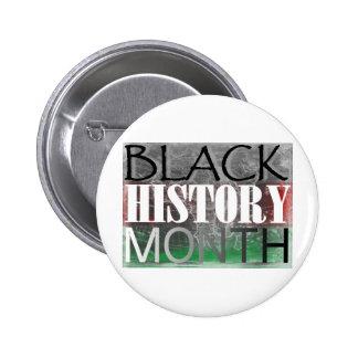Mes negro de la historia (bandera africana) pin
