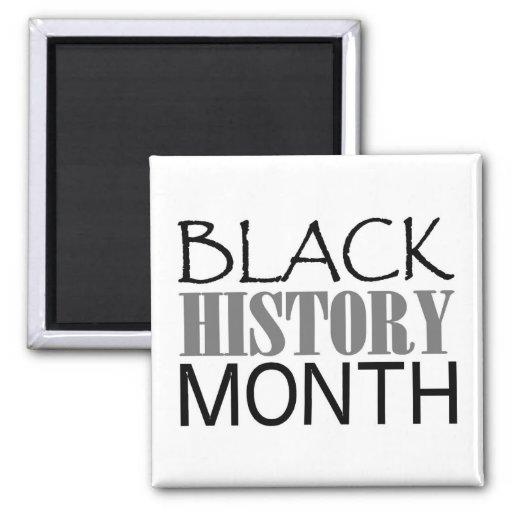 Mes negro de la historia imanes