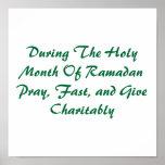 Mes santo del Ramadán Poster