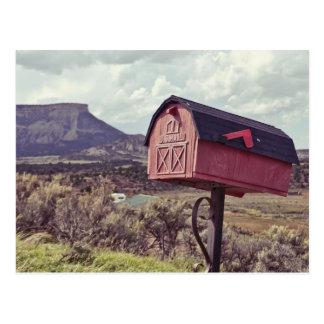 Mes Verde US Mail box Postcard