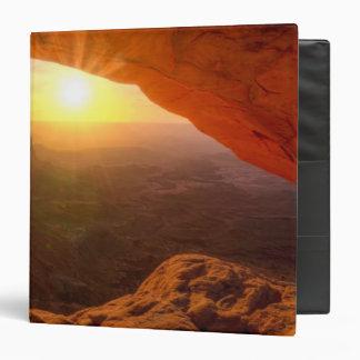 Mesa Arch, Canyonlands National Park 3 Ring Binder