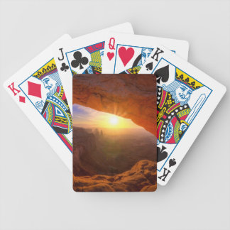 Mesa Arch, Canyonlands National Park Bicycle Playing Cards