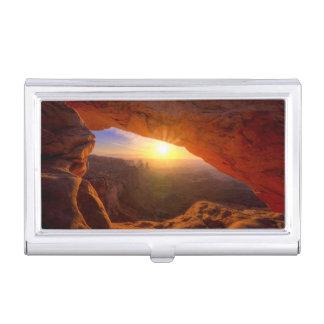 Mesa Arch, Canyonlands National Park Business Card Case