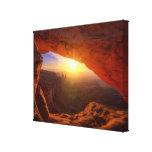 Mesa Arch, Canyonlands National Park Canvas Prints