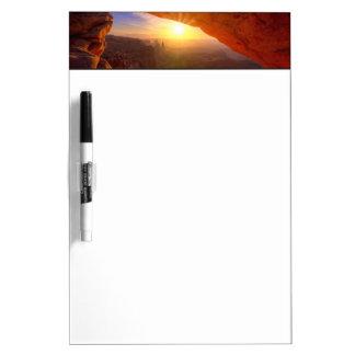 Mesa Arch, Canyonlands National Park Dry-Erase Board
