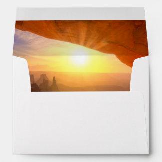 Mesa Arch, Canyonlands National Park Envelope