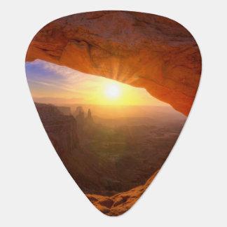 Mesa Arch, Canyonlands National Park Guitar Pick