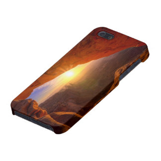 Mesa Arch, Canyonlands National Park iPhone 5/5S Covers