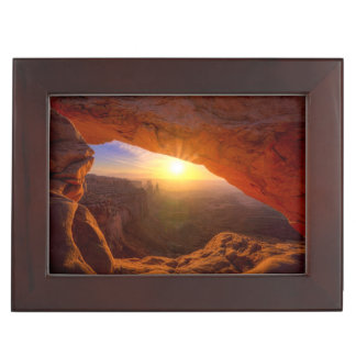 Mesa Arch, Canyonlands National Park Keepsake Box