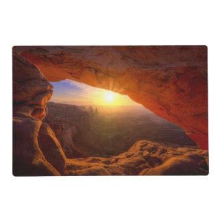 Mesa Arch, Canyonlands National Park Laminated Place Mat