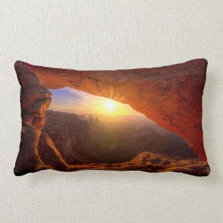 Mesa Arch, Canyonlands National Park Lumbar Pillow