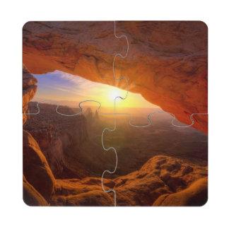 Mesa Arch Canyonlands National Park Puzzle Coaster